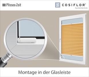 Relativ Klemmfix Plissee | plissee-zeit.de BZ19